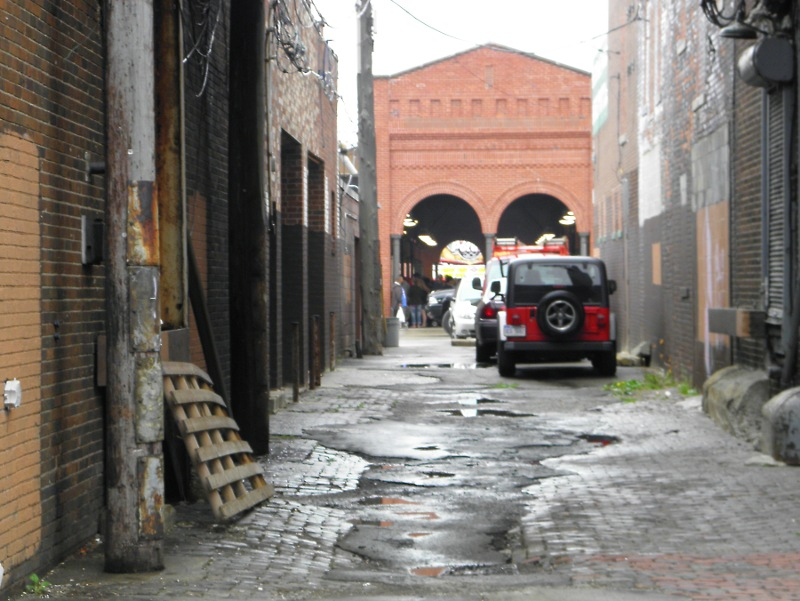 Brick Alley, Eastern Market, Detroit