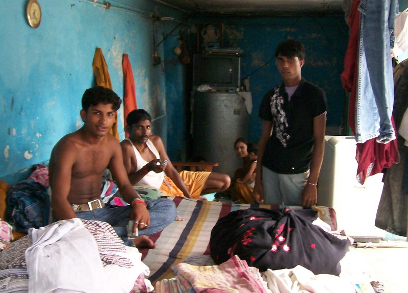 Dhobi-wallah's shop in Rishikesh