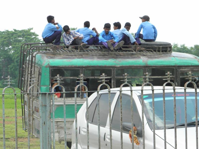 Bus Ride in India